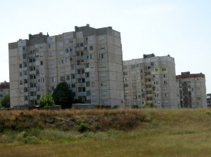 Bulgarian apartment blocks