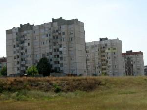 Bulgarian apartment blocks
